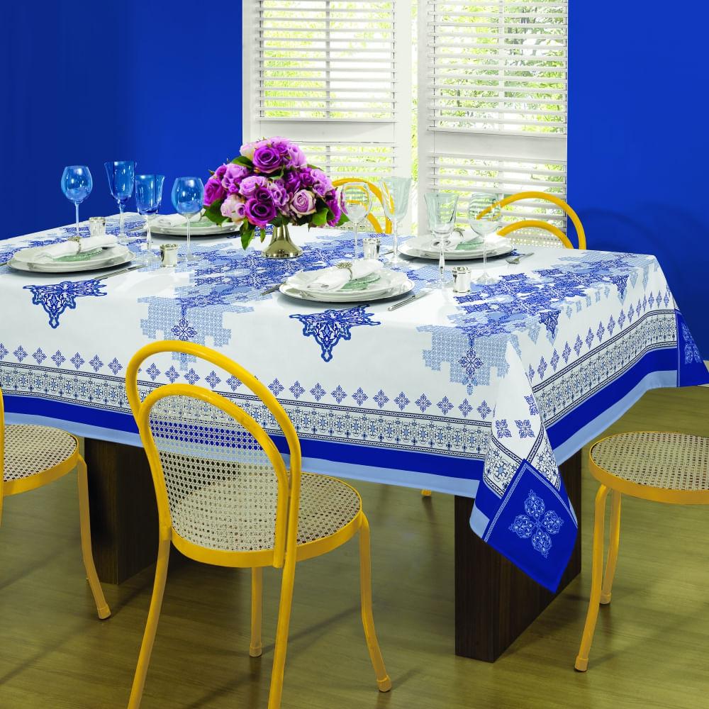 toalha de mesa lepper retangular helena