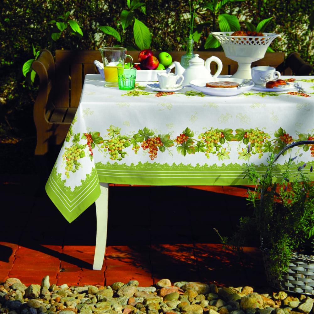 toalha de mesa lepper retangular isabel