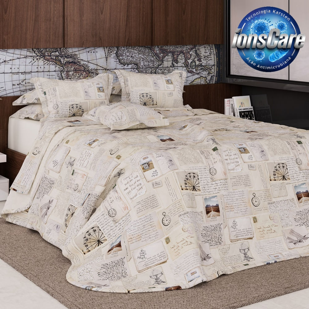 jogo de cama king karsten 180 fios allegra ellie
