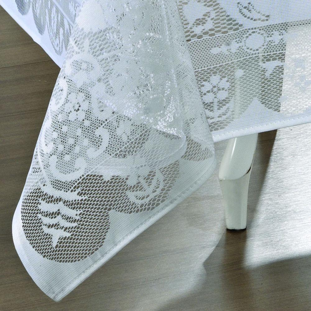 toalha de mesa lepper retangular renda dinner