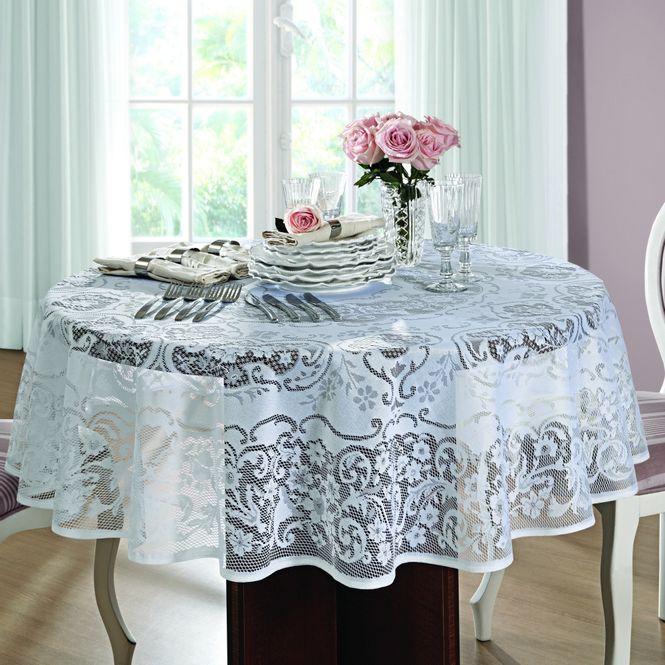 toalha mesa lepper redonda renda rosas