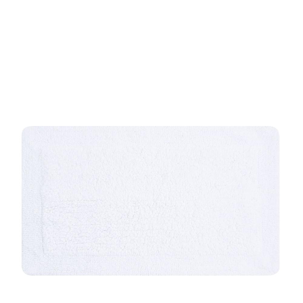 tapete buddemeyer antiderrapante 100% algodão allure branco