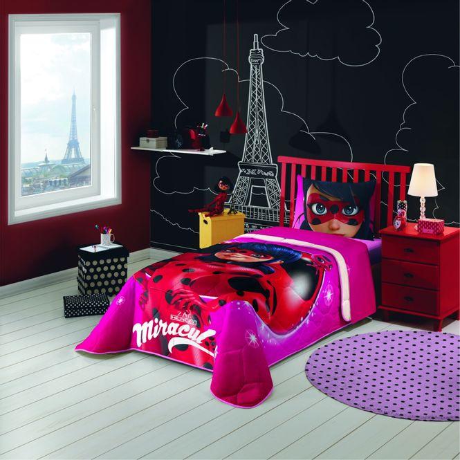 ef80df8dec Home · CAMA INFANTIL · edredom infantil  edredom infantil lepper miraculous  ladybug. undefined