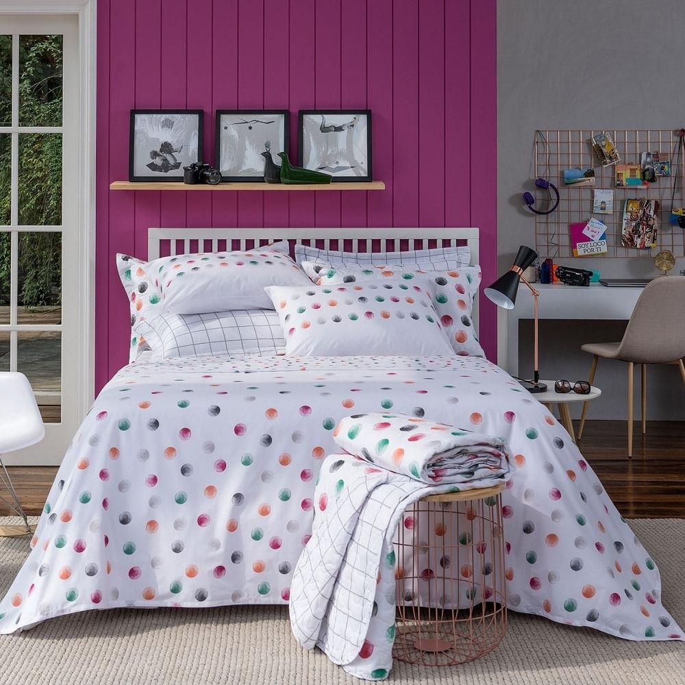 4d0a27331 jogo de cama casal santista home design 100% algodão petit 1