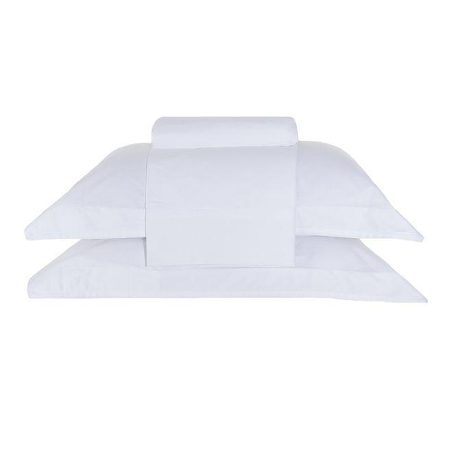 31acf929f4 jogo de cama casal buddemeyer 200 fios 100% algodão basic premium branco