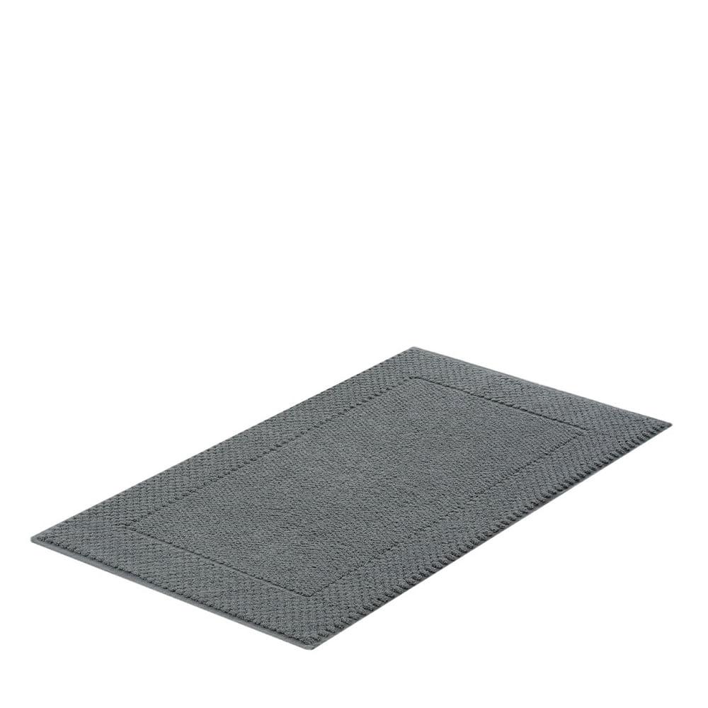 jogo de toalhas de banho buddemeyer 5 peças algodão egípcio cinza