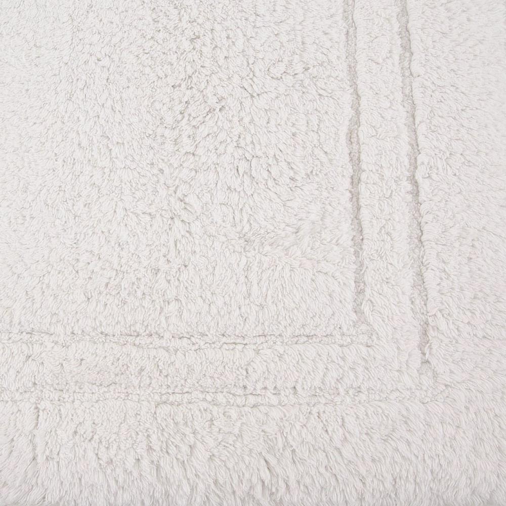 tapete buddemeyer antiderrapante 100% algodão elegance branco