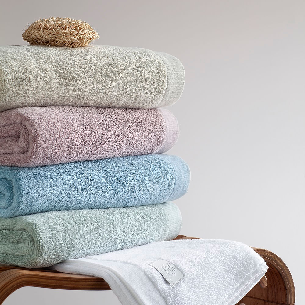 jogo de toalhas de banho buddemeyer 5 peças dual air branco