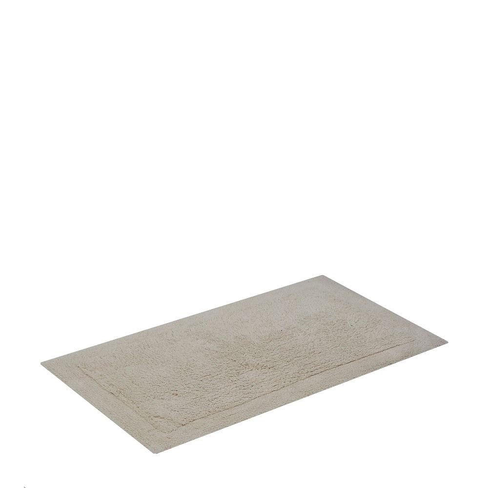 tapete buddemeyer antiderrapante 100% algodão allure bege 1457