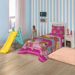05933201-jogo-de-cama-infantil-lepper-2-pecas-microfibra-patrulha-canina-menina-ambiente