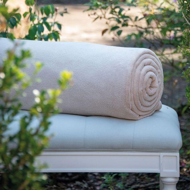 cobertor queen scavone microfibra soft caqui