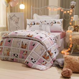 jogo-de-cama-infantil-santista-3-pecas-100-algodao-cats-ambiente