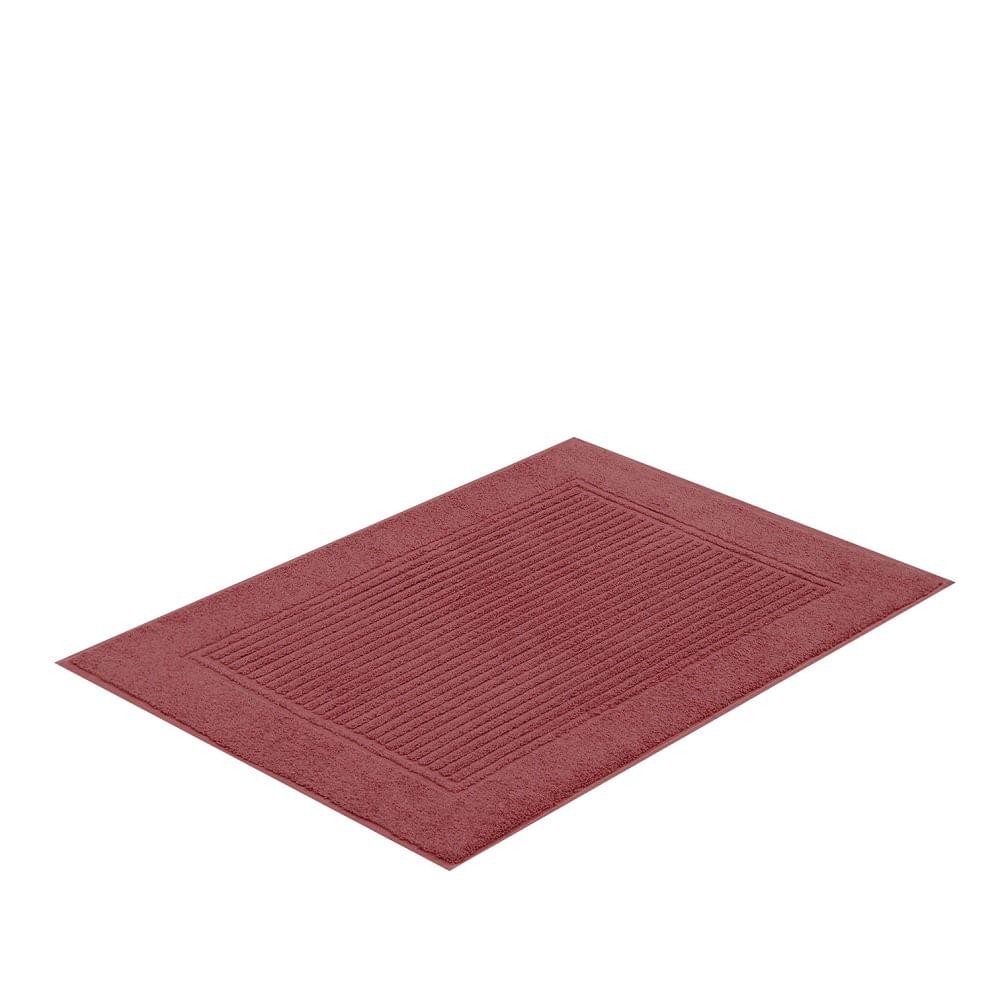 jogo de toalhas de banho buddemeyer 5 peças frape gigante vermelho 1963