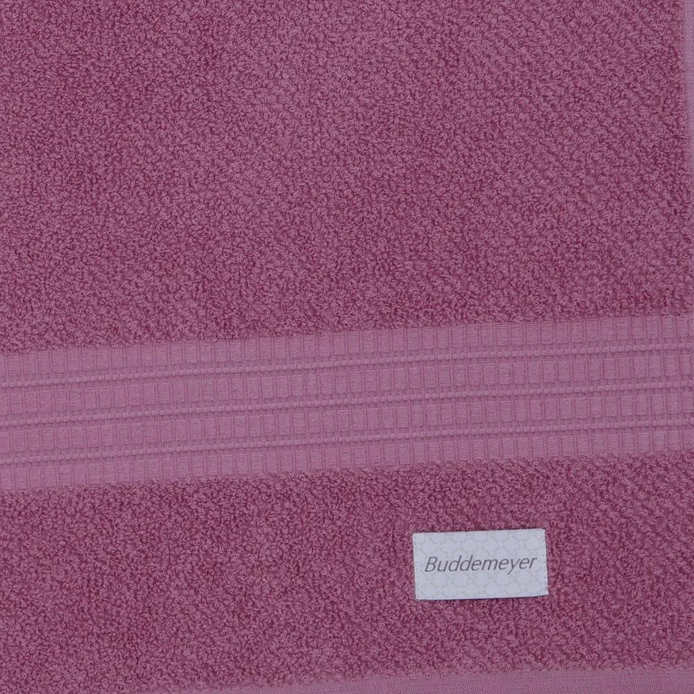 jogo de toalhas de banho buddemeyer 2 peças frape rosa 1340