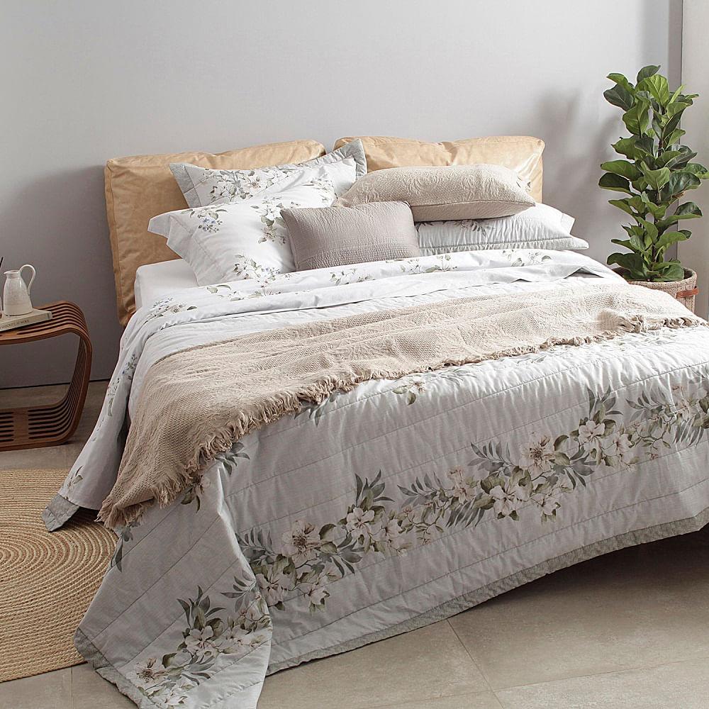 jogo de cama king buddemeyer 180 fios 100% algodão percalle celina