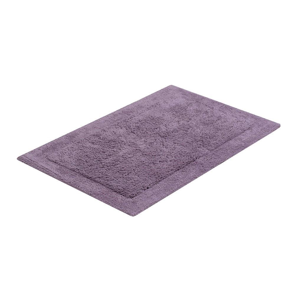 tapete buddemeyer antiderrapante 100% algodão allure lilás 1628