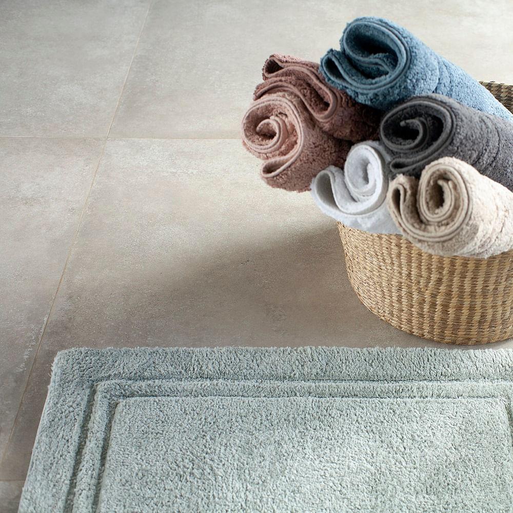 tapete buddemeyer antiderrapante 100% algodão elegance grafite 1057