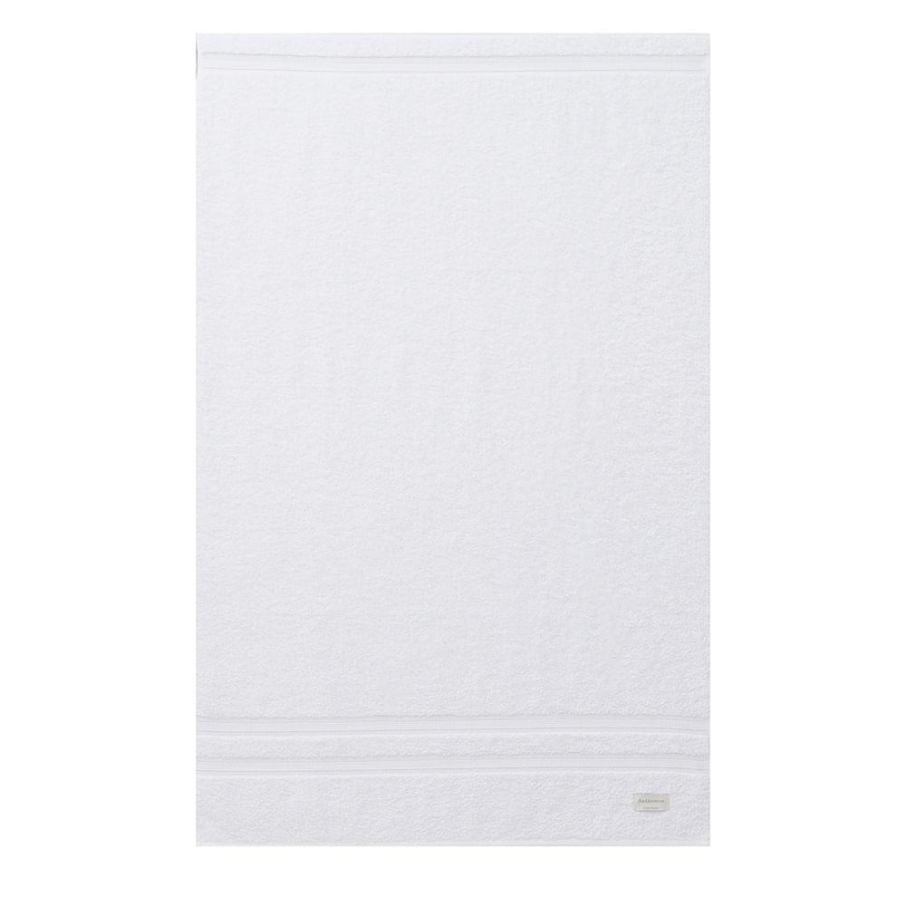 jogo de toalhas de banho buddemeyer 2 peças algodão egípcio branco