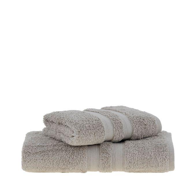 jogo toalhas banho buddemeyer 2p algodão egípcio bege 3144