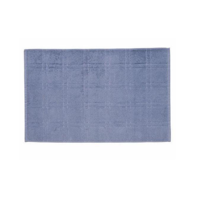 toalha piso santista antiderrapante square azul