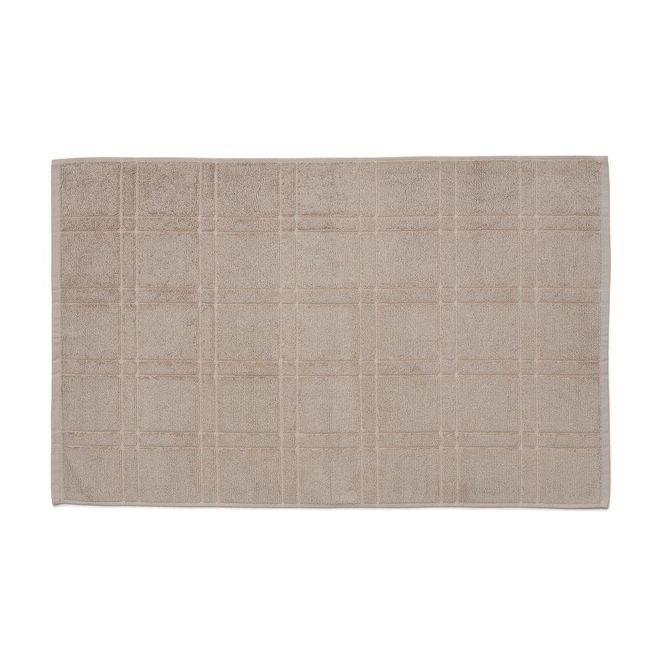 toalha piso santista antiderrapante square bege