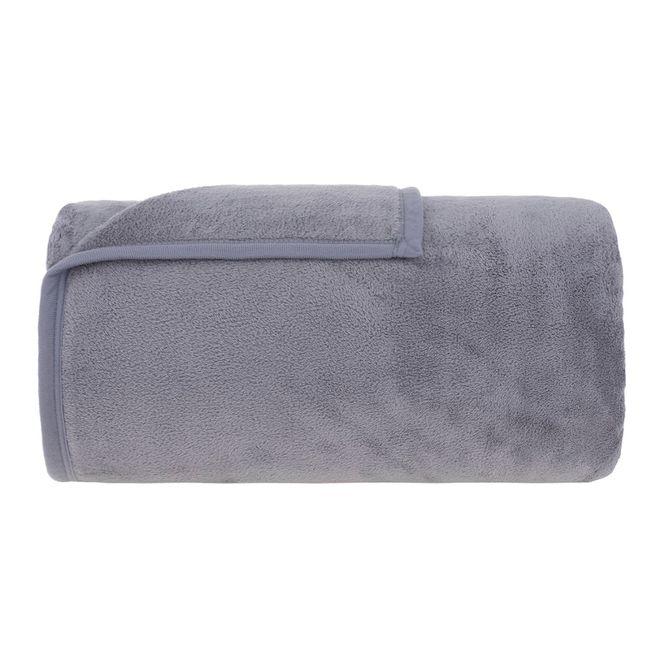 cobertor casal buddemeyer microfibra aspen cinza 041