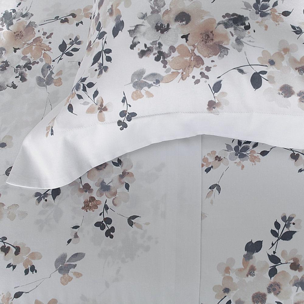 jogo de cama queen buddemeyer 300 fios 100% algodão bud vision sensai estampado