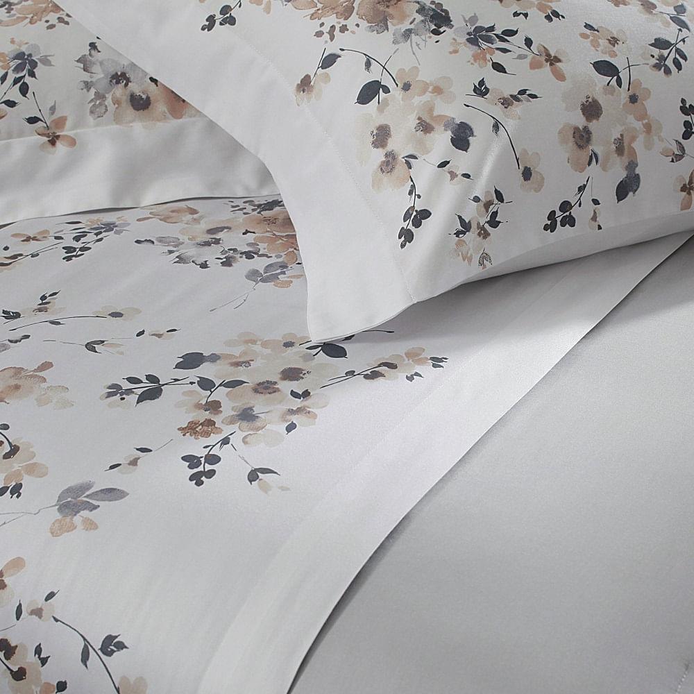 jogo de cama king buddemeyer 300 fios 100% algodão bud vision sensai estampado