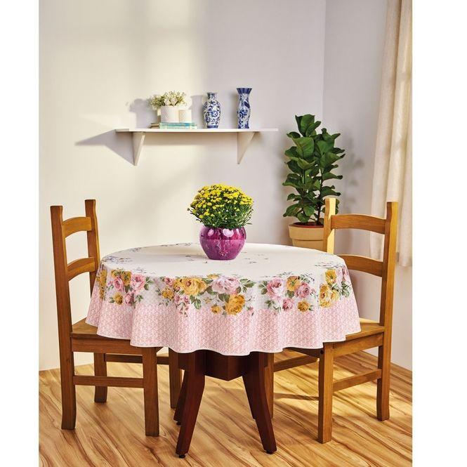 toalha mesa lepper redonda super prática carol rosa