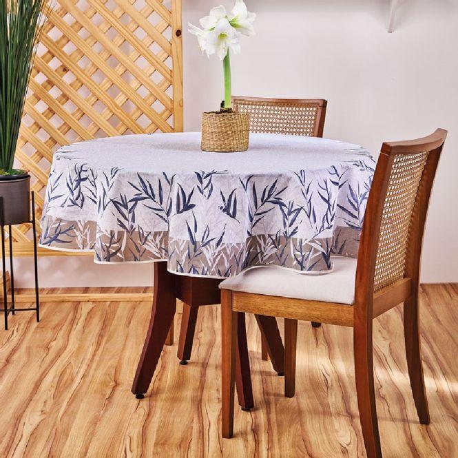 toalha mesa lepper redonda super prática thay cinza
