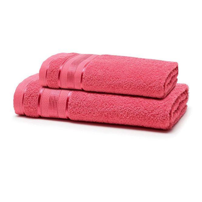jogo toalhas banho santista 2p royal knut gerânio 3276