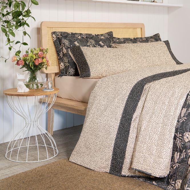 jogo de cama queen artex total mix 180 fios 100% algodão bossa