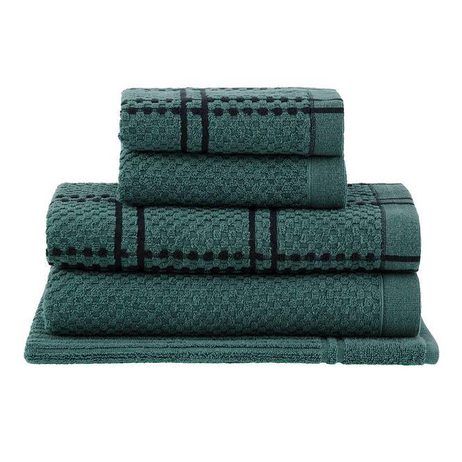 jogo toalhas banho buddemeyer 5p yumi verde 009