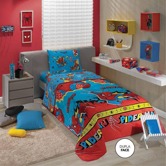 edredom infantil lepper microfibra spider man 04690301