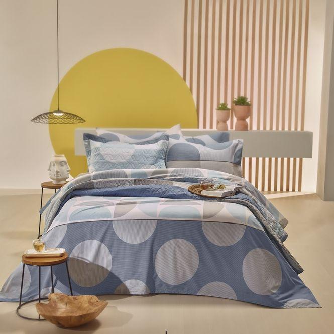 jogo de cama king santista home design 100% algodão spot