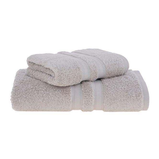 jogo toalhas banho buddemeyer 2p algodão egípcio bege 1084