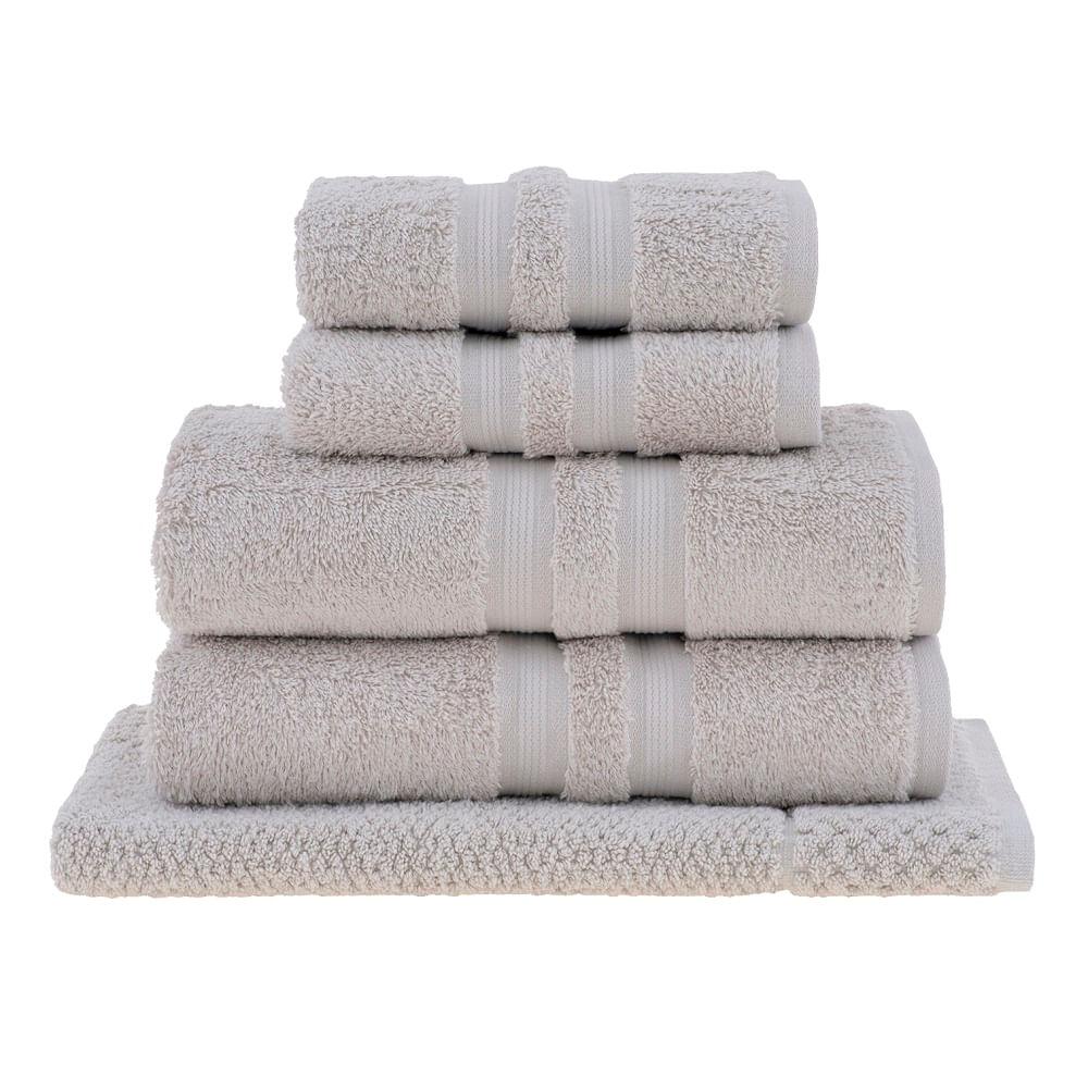 jogo toalhas banho buddemeyer 5p algodão egípcio bege 1084
