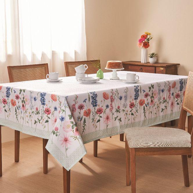 toalha mesa casa com casa quadrada 4 lugares seja-como-flor