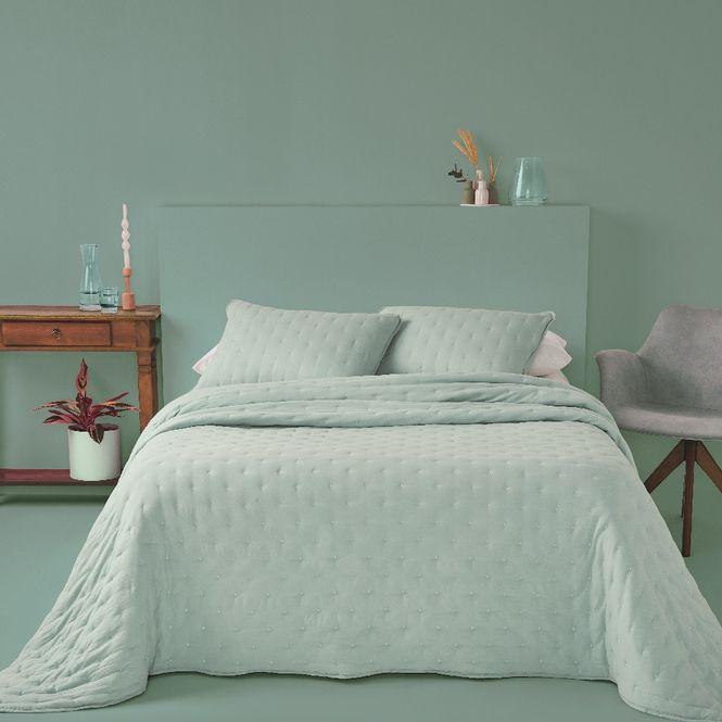 kit cobre leito queen casa com casa poá encantado verde