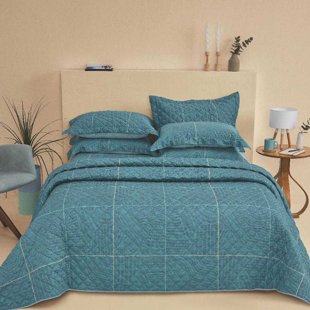 jogo cama casal casa com casa 200 fios cetim relax