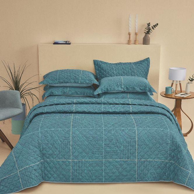 jogo cama queen casa com casa 200 fios cetim relax