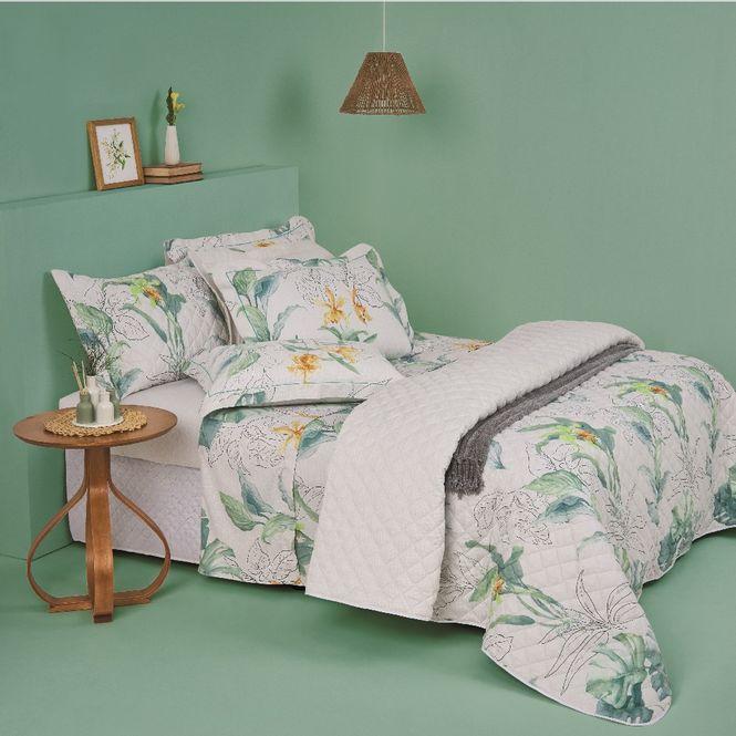 jogo cama queen casa com casa 200 fios cetim quintal