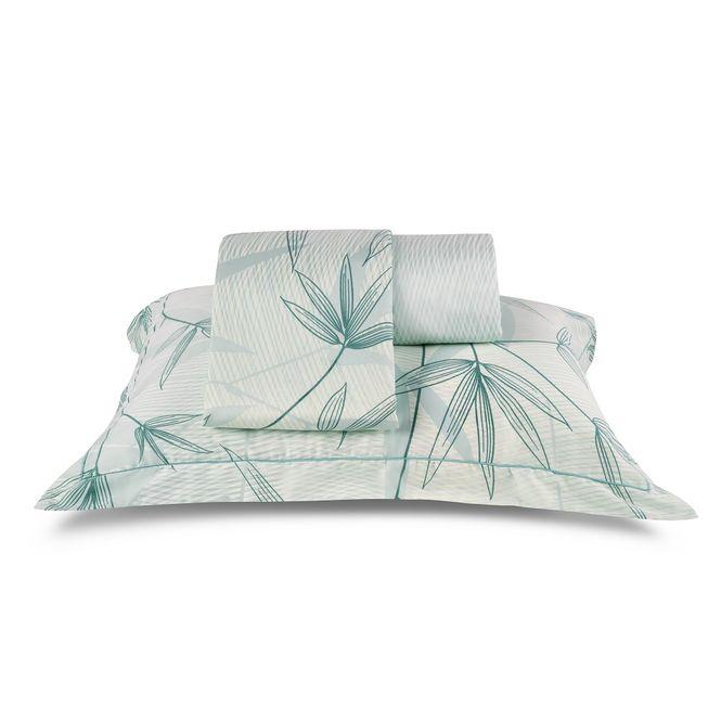 jogo cama solteiro casa com casa 200 fios cetim refrescante