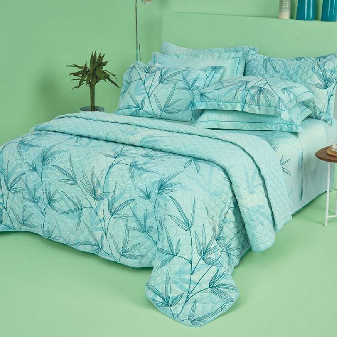 jogo cama casal casa com casa 200 fios cetim refrescante